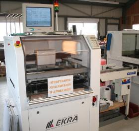 Machine de sérigraphie en ligne EKRA